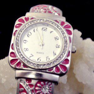 Ladies Bangle Watch